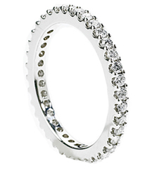 .50TW SHARED PRONG DIAMOND ETERNITY BAND