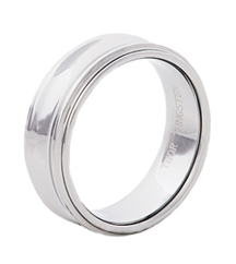 8MM CONCAVE TUNGSTEN GENTS BAND