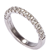 .48TW SHARED PRONG DIAMOND BAND