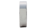 GENTLEMAN'S 14K WHITE GOLD POLISHED 6MM FLAT BAND