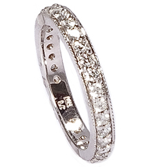 .56TW BEADSET DIAMOND BAND