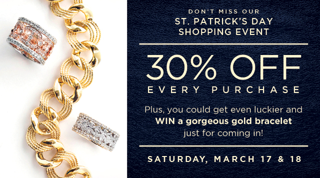 'Get Lucky In Gold - March 17 & 18